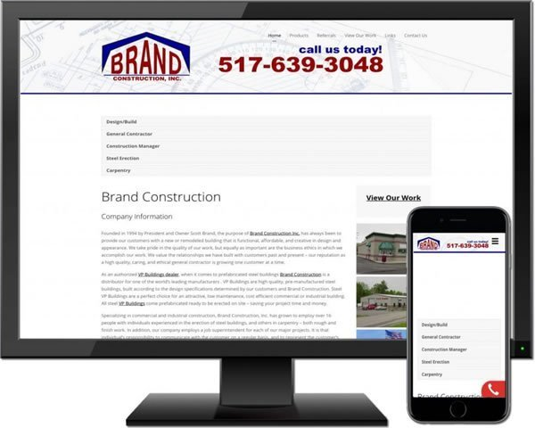 Brand Construction, Inc.
