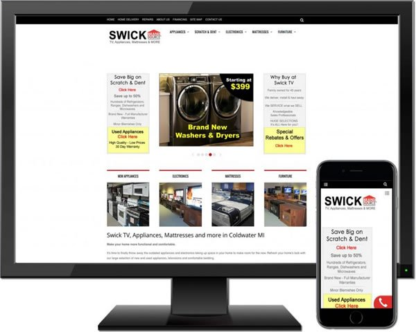 Swick TV & Appliances