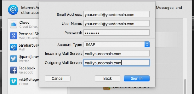 How to Configure Apple Mail