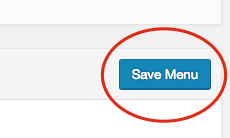 4. Make sure to click on the blue Save Menu button once you are done.