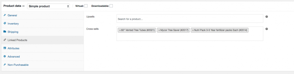 4. You can add as many as you would like. Once done make sure to save your product.